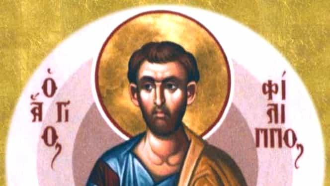 Calendar ortodox: joi, 14 noiembrie. Este cinstit Sfântul Apostol Filip. Lăsatul secului pentru postul Nașterii Domnului