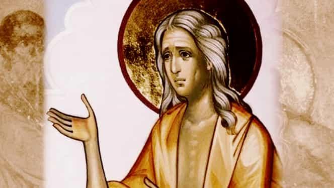 Rugăciune către Sfânta Maria Egipteanca, sărbătorită pe 1 aprilie la ortodocși