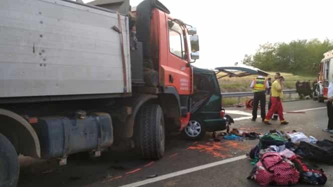 Cine sunt românii morți în cumplitul accident din Ungaria? MAE caută răspuns!