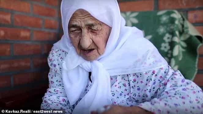 Koku Istambulova, cea mai bătrână femeie din lume! În 129 de ani a fost fericită o singură zi