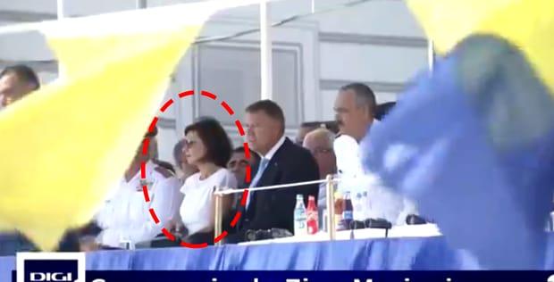 Carmen Iohannis, apariție de senzație la Ziua Marinei de la Constanța! Oamenii s-au uitat lung la ea