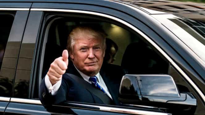 GALERIE FOTO I-a arătat degetul mijlociu lui Trump, dar nu se gândea câ i se va intâmpla asta! Democraţie?