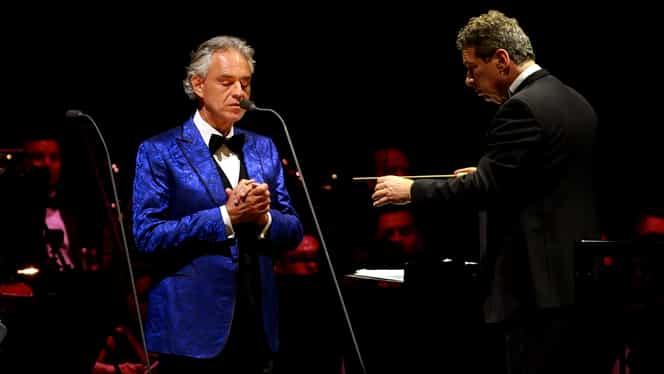 Andrea Bocelli, concert special de Paște în Domul din Milano! Evenimentul va avea loc fără spectatori și va putea fi urmărit pe Youtube