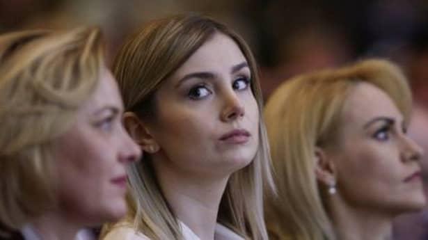 Cum a apărut iubita lui Liviu Dragnea la petrecerea PSD de 8 Martie! Irina Tănase a atras toate privirile FOTO