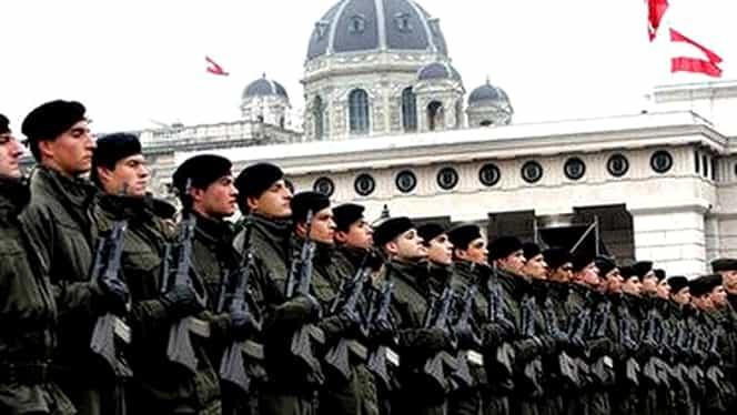 Austria scoate armata în stradă: rezerviştii, mobilizaţi pentru prima dată după al Doilea Război Mondial