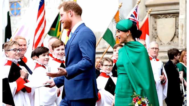 Prințul Harry și Meghan Markle, surprinși în Los Angeles. Cum au apărut Ducii de Sussex. FOTO
