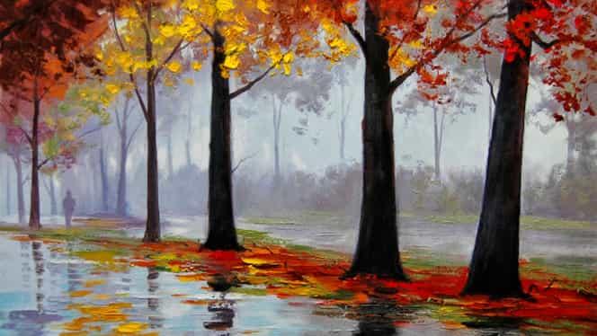 Prognoza meteo 4 octombrie. Vremea se răceşte uşor şi vin ploile