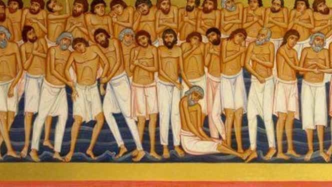 Cine sunt cei 40 de mucenici de la Sevastia