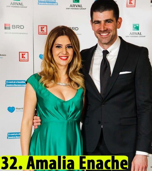 Amalia Enache si sotul ei la un eveniment monden - Amalia Enache sani naturali