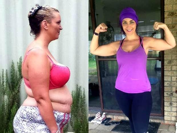 A slăbit 70 de kilograme după ce a eliminat patru alimente din dieta sa