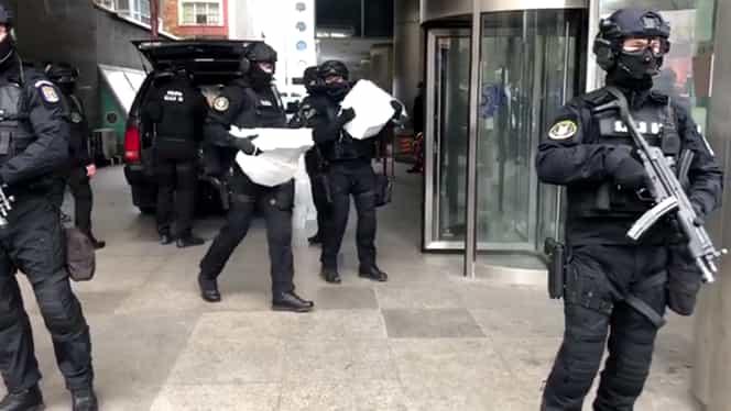 Captură de droguri în București, în valoare de un milion de euro! Traficanții își țineau marfa într-o clădire dezafectată