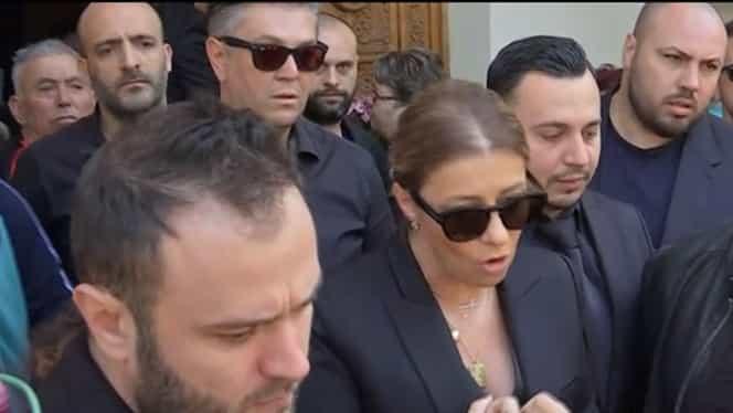 Ionela Prodan înmormântare cu scandal! Oamenii s-au bătut