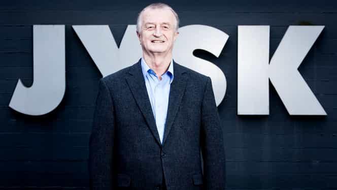 A murit Lars Larsen, fondatorul companiei Jysk. Antreprenorul avea 71 de ani