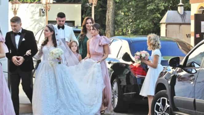 Teodora și Mihai Mincu au strâns la nuntă peste un milion de euro de la invitați. Aceeși sumă a fost dăruită și de Gigi Becali