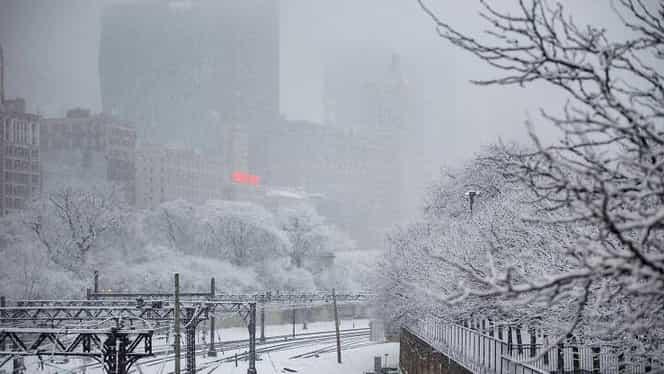 Vortex polar în SUA! S-a decretat stare de urgenţă! Temperaturi de până la -53 de grade Celsius. FOTO şi VIDEO
