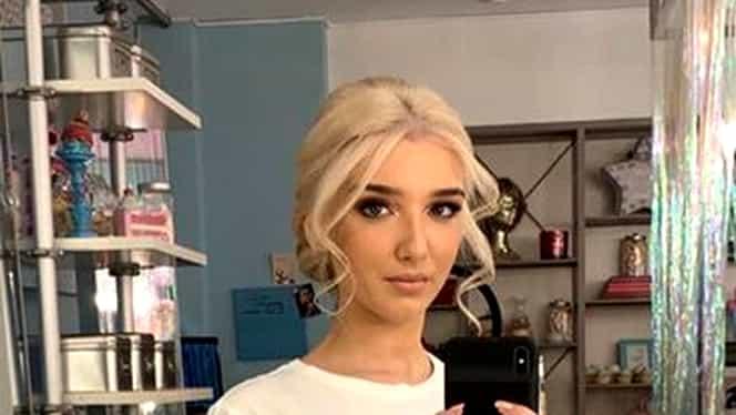 Alexandra Becali, cea mai elegantă dintre fetele lui Gigi Becali. Tânăra e pasionată de fashion şi nu iese nearanjată din casă. FOTO