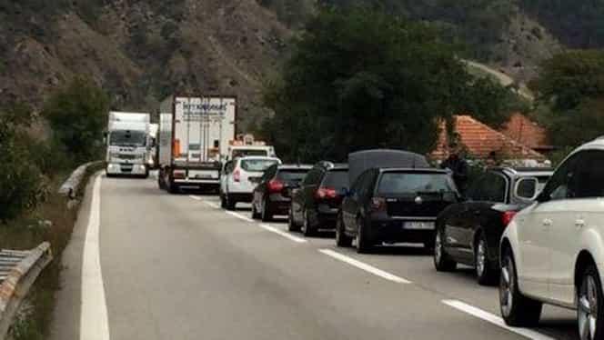 Trafic de coşmar, în a doua zi de Paşte! Valea Prahovei, cea mai afectată