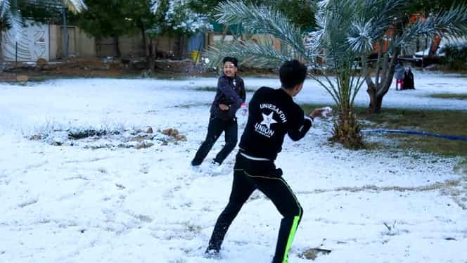 A nins la Bagdad. Este pentru a doua oară în ultima sută de ani