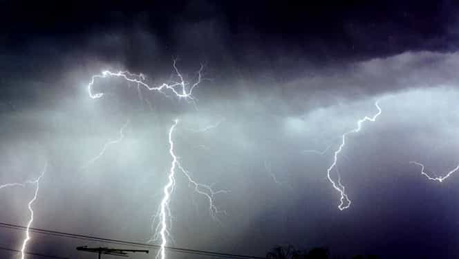 ANM extinde avertizarea de furtună! Vezi zonele afectate