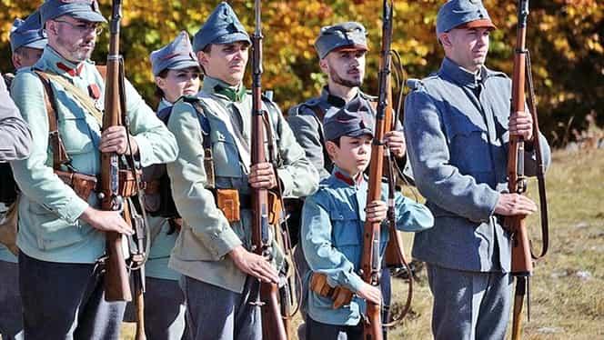 Cel mai tânăr soldat care va trece pe sub Arcul de Triumf, de Ziua Națională a României
