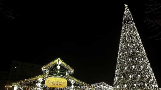 Vineri se aprind luminiţele de Sărbători în Bucureşti! Tema abordată va fi una românească!