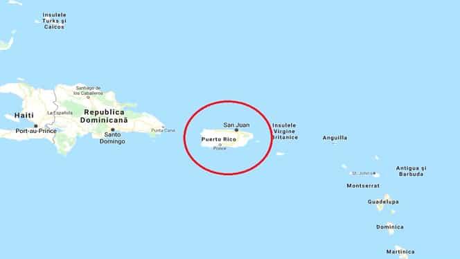 Un nou cutremur în Puerto Rico, azi dimineață, cu magnitudinea de 6,6 grade pe scara Richter. Stare de urgență în această țară