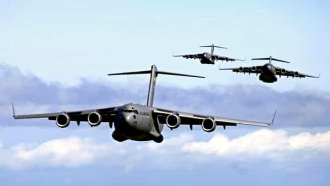 Incident aviatic deosebit de grav! Două avioane militare ale SUA s-au ciocnit, la Hiroshima