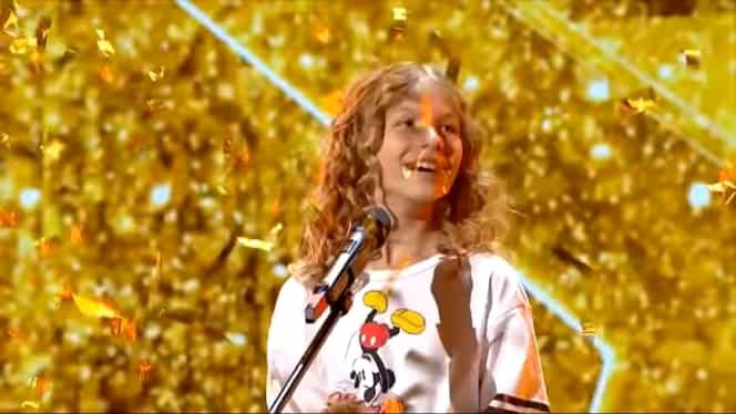 """Scandal după ce Daria Călugăru a luat Golden Buzz la Românii au talent: """"A copiat din coregrafie"""""""