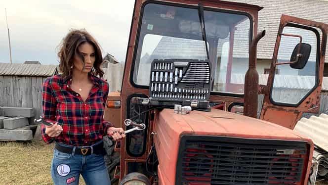 Geanina Ilieş şi-a cumpărat maşină de 100.000 de euro. Cum a fost surprinsă prezentatoarea emsiunii Gospodar fără pereche de la PRO TV