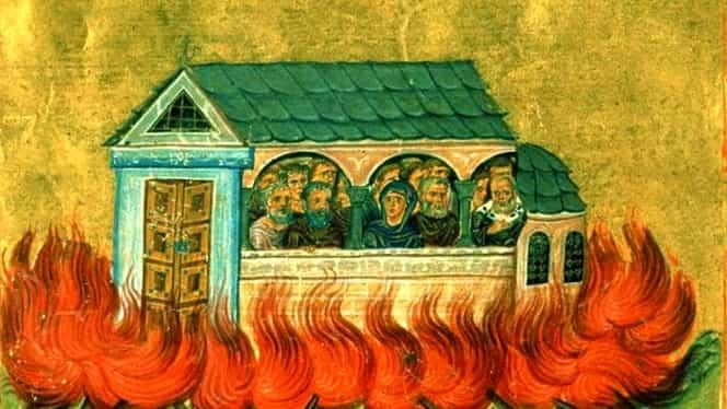 Calendar ortodox: sâmbătă, 28 decembrie. Sfinții 20.000 de Mucenici arși în Nicomidia din ordinul împăratului Maximian