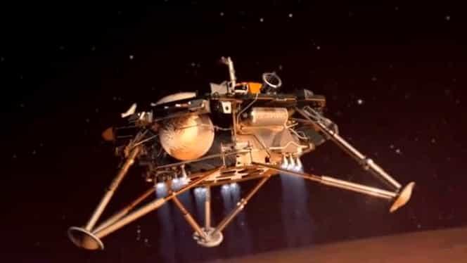 FOTO Primele imagini de pe Marte, trimise de Sonda InSight