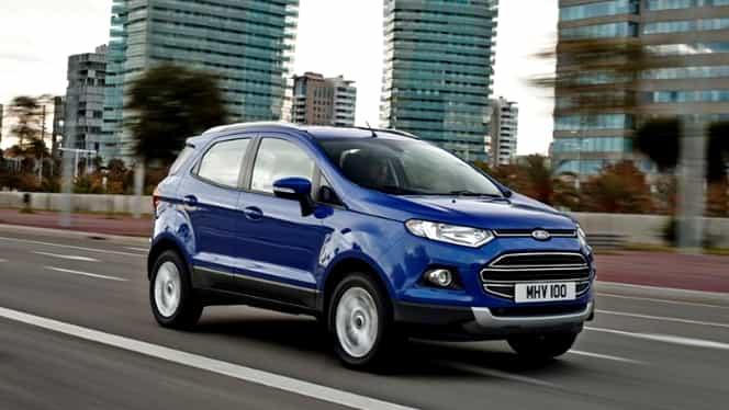 Noul Ford EcoSport mizează pe tehnologii sofisticate GALERIE FOTO