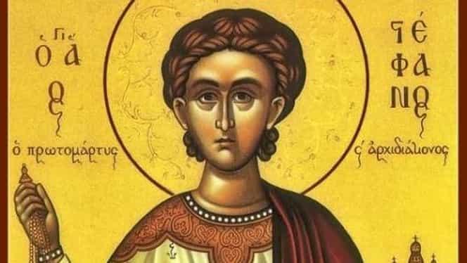 Calendar ortodox 27 decembrie: Sfântul Ştefan. Lucrurile pe care să nu le faci în a treia zi de Crăciun