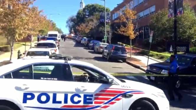 VIDEO. Atac armat la Universitatea Howard din Washington