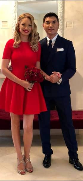 Valentina Pelinel, în  rochie de mireasă! Detaliul care a atras atenția tuturor