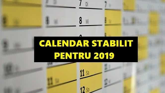 Zile libere în 2019: când va fi următoarea minivacanță! Calendar stabilit pentru bugetari