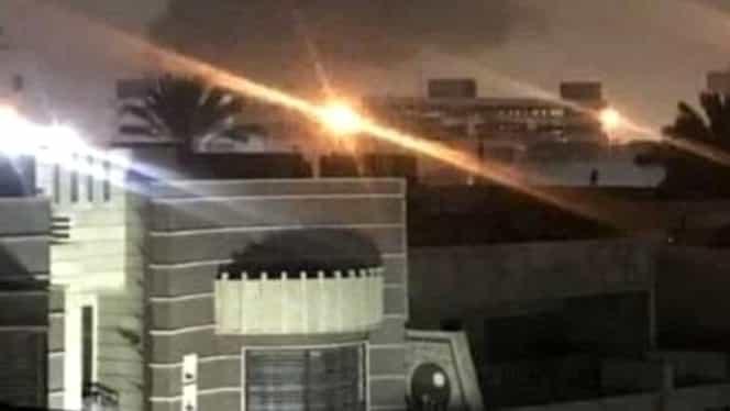 Mai multe rachete au căzut în apropiere de ambasada SUA din Irak