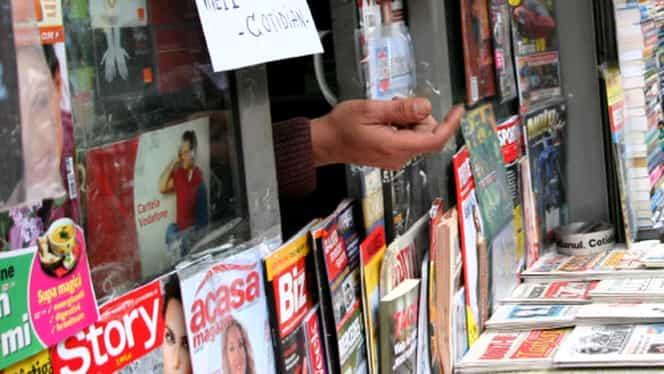 Azi nu se vor vinde ziare în Bucureşti! Care este motivul pentru care difuzorii de presă au intrat în grevă