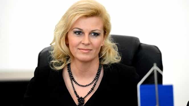 GALERIE FOTO. Kolinda Grabar Kitarovic, preşedinta Croaţiei, una dintre cele mai sexy politiciene din Europa