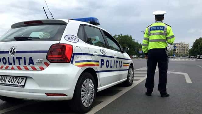 O polițistă a lovit cu mașina un copil de 14 ani! Declarație surprinzătoare a polițiștilor