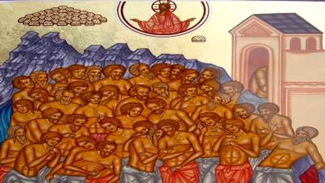 Sfinții 40 de Mucenici. Ce nu ai voie să faci niciodată pe 9 martie