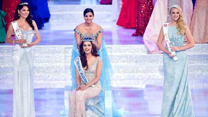 Galerie foto. O tânără de 20 de ani din India a câştigat concursul Miss World 2017!