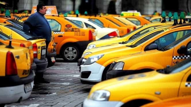 Protest taximetriști, miercuri, 13 februarie, la Guvern. Restricții de trafic în București, rute ocolitoare.