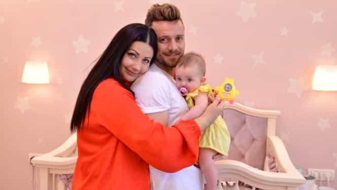 Gabriela Cristea a ajuns la spital cu fetița, cu o zi înainte de botez