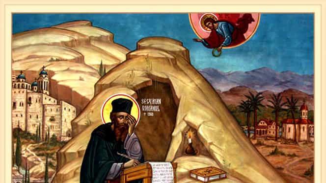 Calendar ortodox, luni, 5 august. Sfântul Ioan Iacob Hozevitul, născut în țara noastră
