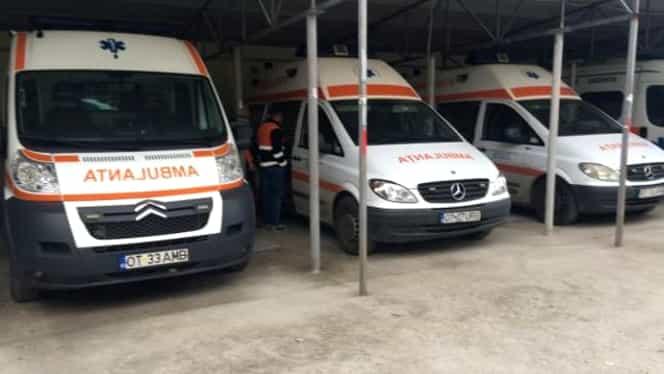 Angajați ai ambulanței Corabia, județul Olt, cercetați pentru moartea pacienților