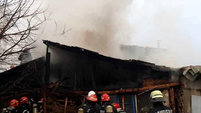 BREAKING NEWS. Incendii în București! FOTO. Mai multe imobile sunt în flăcări