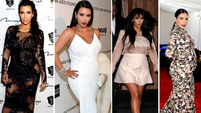 Kim Kardashian, ţinută de infarct! Vedeta a fost la un pas să arate tot, în public!