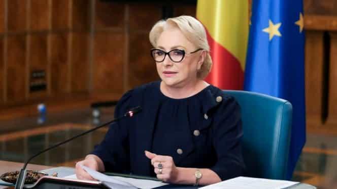 """Răspunsul dat de Viorica Dăncilă când a fost întrebată dacă îl va grația pe Liviu Dragnea. """"Nici nu se pune problema. Nu"""""""