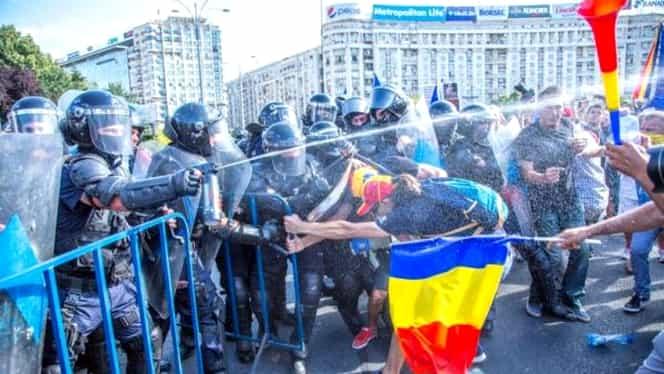 Jandarmeria a depus plângere penală în care acuză o posibilă lovitură de stat la protestele diasporei